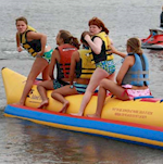 Banana Boat, Water Skiing